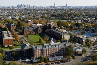 Tufts Medford Campus Map.Medford Somerville Campus Map Tufts University